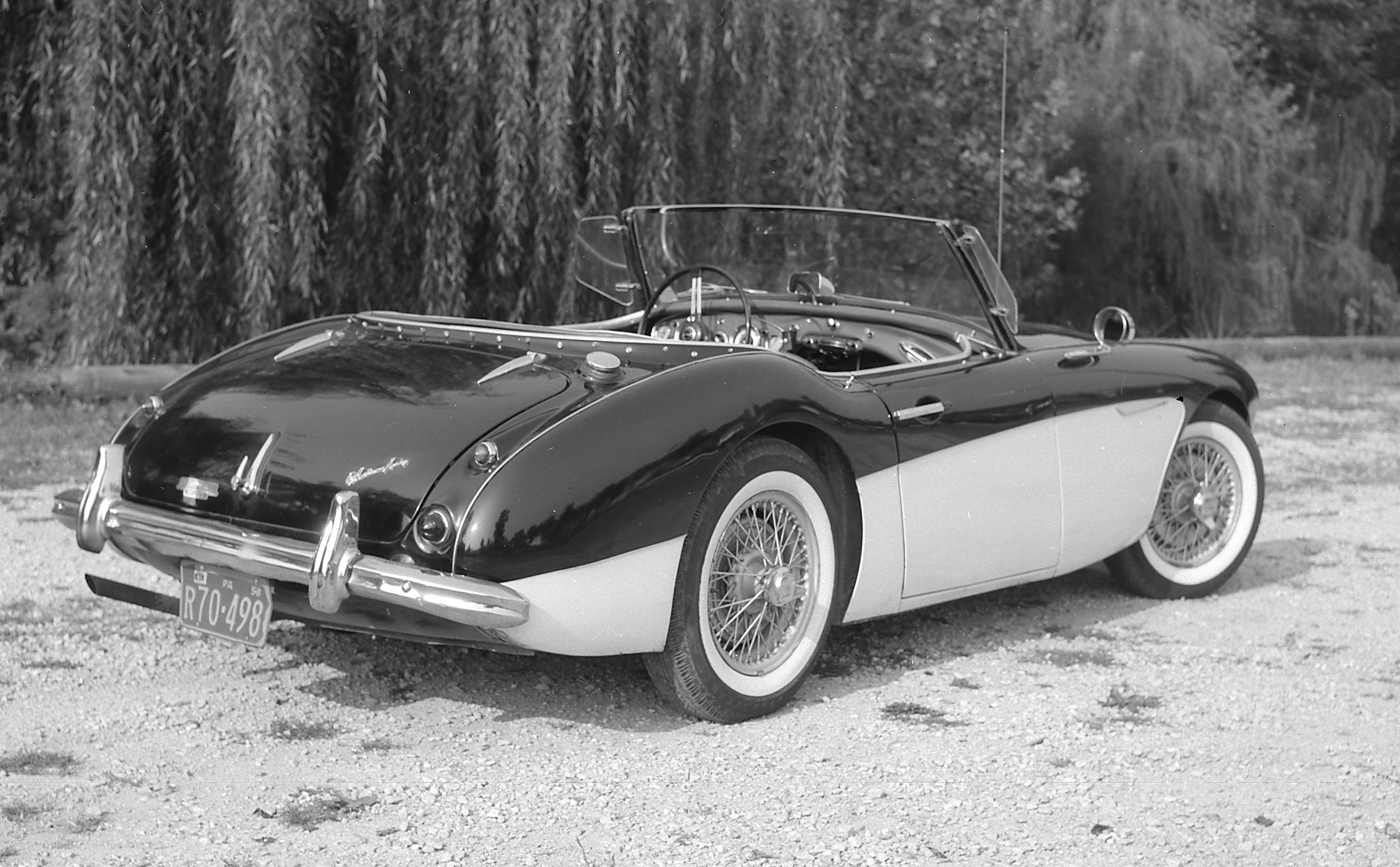 "Less than ""perfect"" Austin Healey"
