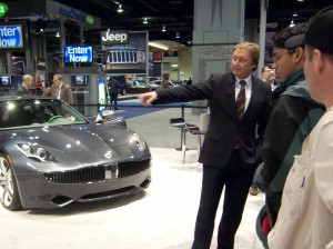 Henrick Fisker and the Karma