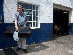 Glen Looper with my RENU repaired gas tank